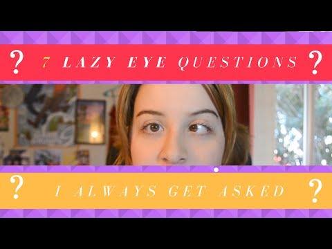 7 Lazy Eye Questions I Always Get!
