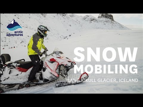 Snowmobiling on Iceland