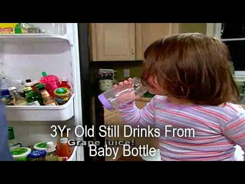 3Yr Old Still Drinks From BABY BOTTLE! | Supernanny