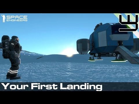 Space Engineers - Planets Survival Guide #1 - Your First Landing