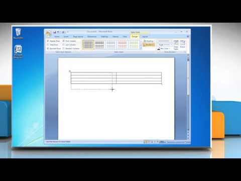 How to make a bar graph from a Table in Word 2007
