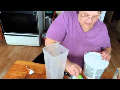 Making Powdered Laundry Soap.