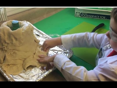 Making a Volcano with Erik