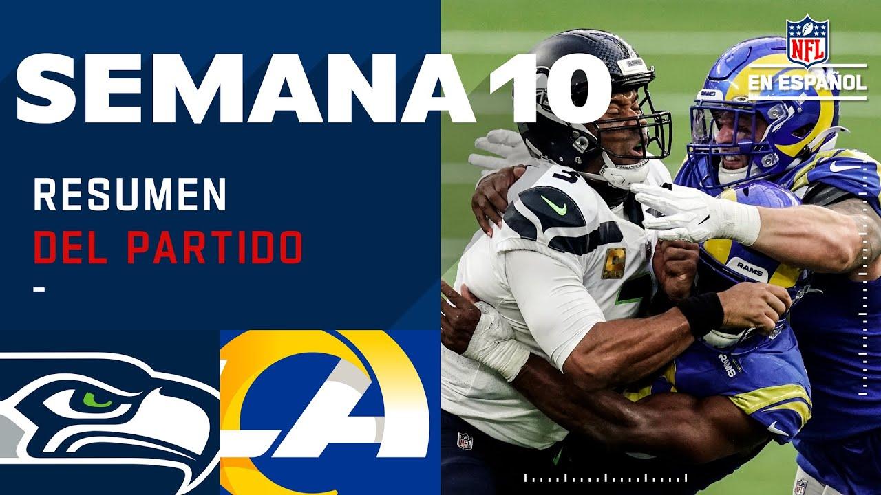 ¡Los Rams se llevaron la victoria y la división está muy apretada! | Resumen | Semana 10