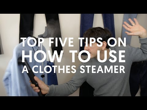 Top 5 Tips on How To Use A Clothes Steamer