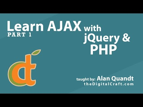 Learn AJAX with jQuery and PHP - Part 1
