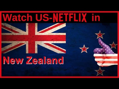 How to watch US-American NETFLIX in New Zealand