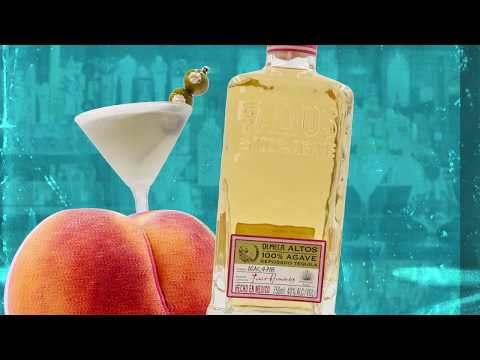 Bar Louie Presents Drink Pourn - Honey Peach Margtini