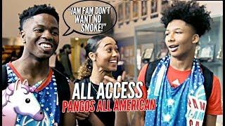 JAM FAM vs UNICORN FAM! Mikey Williams & Zion Harmon FACE OFF! Pangos All American All Access