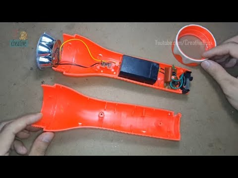 Fix - Repair - Upgrade LED Flashlight, Torch LED