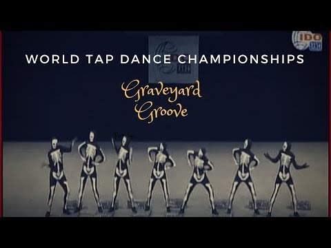 Awesome Tap Dance at World Championships - Hallowe'en Graveyard Groove