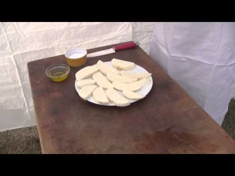 How to Grill Jicama by BBQ Dragon