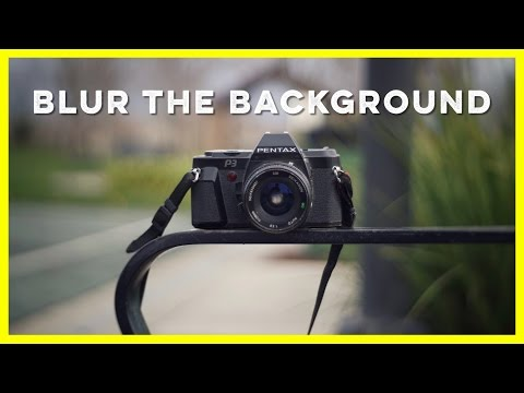 How to Blur the Background with Adapted Lenses and the Sony A6000