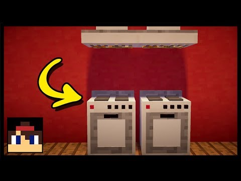 ✔ Minecraft: How To Make A Working Oven | MCPE (No Mods Or Commands)