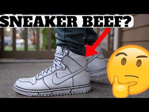SNEAKER BEEF OVER THESE SKETCH SNEAKERS?