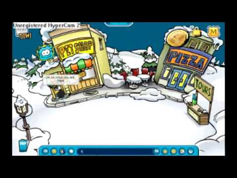 club penguin rainbow puffle tutorial working 2009