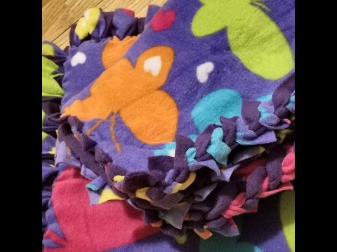 New Sew Fleece Blankets
