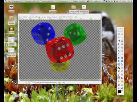 Convertir une image de png en jpg avec The Gimp