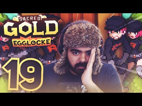 TEAM ROCKET are literally blasting me. | Pokemon Sacred Gold Egglocke w/ TheHeatedMo - 19