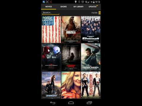 Watch movies for free on Android with showbox
