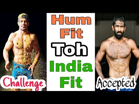 Hum Fit Toh India Fit  ~  Indian Wrestlers Accepted Challenge
