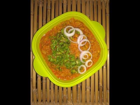 Lauki Bharta recipe in Hindi - Lauki with twist - Spl Bottle Gourd curry