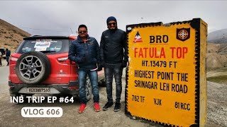 Adventurous Drive from Fatula Top to Leh, INB Trip EP #64