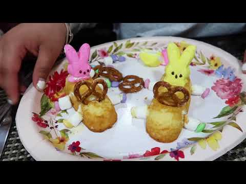 Making Cute Easter Snacks...we may have failed!