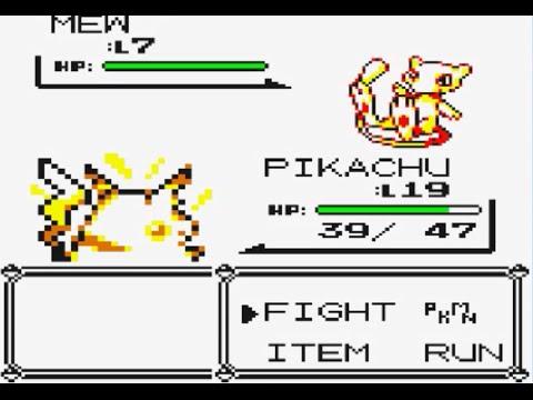 pokemon yellow how to catch mew - pokemon yellow mew