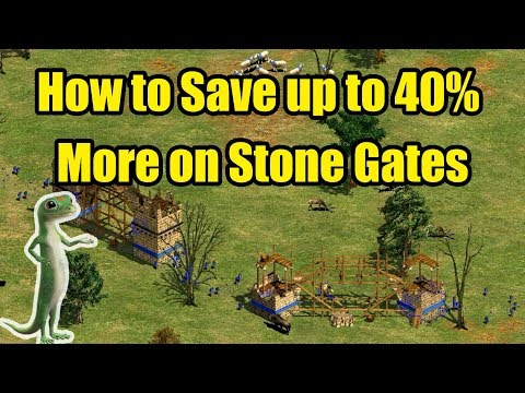 How to Save Stone When Building Gates