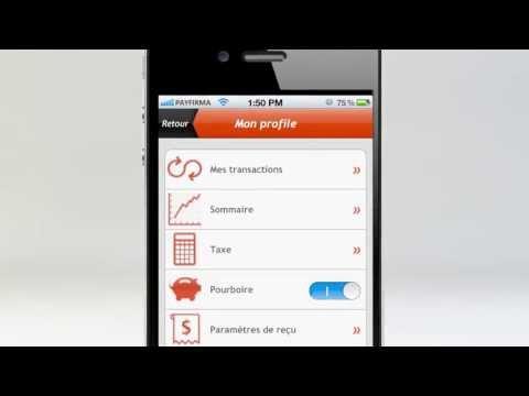 Payfirma Solutions Mobiles: Acceptez les cartes de crédit sur votre téléphone