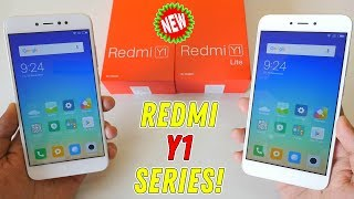 Xiaomi Redmi Y1 & Y1 Lite Unboxing & comparison with Camera samples! NEW Series!