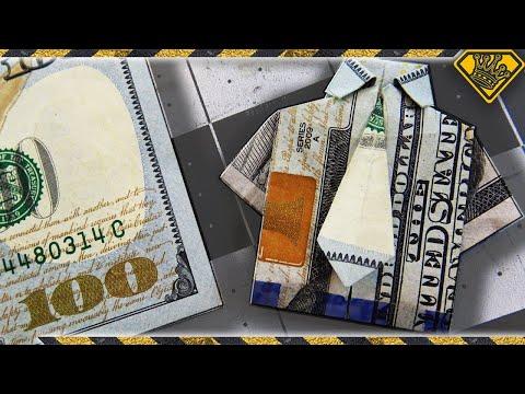 Make A Money Shirt (With Necktie)