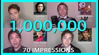 MY BEST IMPRESSIONS!! (1M Sub Montage + Life Story!)
