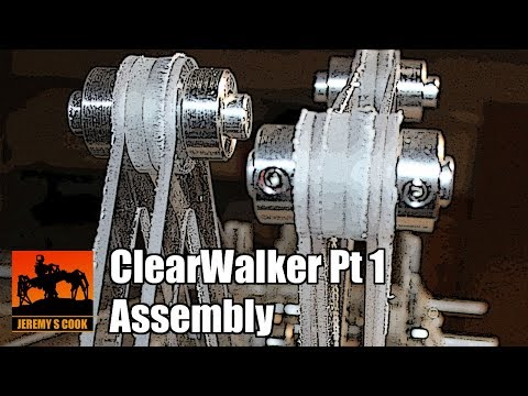 ClearWalker Strandbeest Assembly (Pt 1)