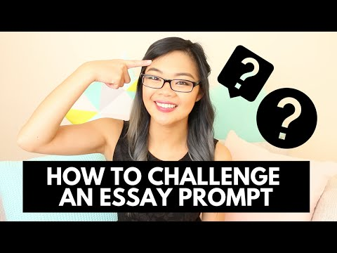 Challenging the prompt | A+ essays | Think outside the box | Lisa Tran