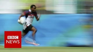 Carlin Isles:  From homelessness to Rio - BBC News