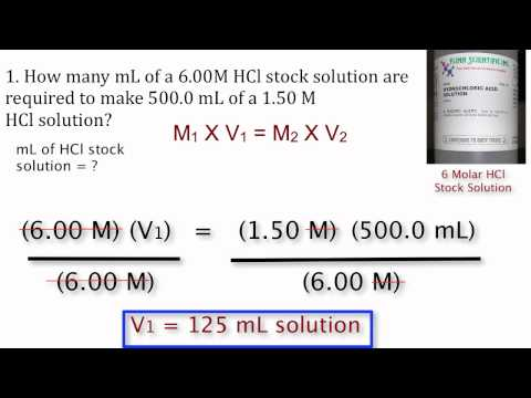 13.10 Dilution Problems