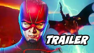 The Flash 4x10 Suit Up Promo and The Batman Movie Explained by Matt Reeves
