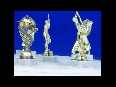 Sport Figuren und Trophäen