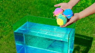 Experiment: Bath Bombs Under Water