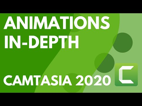Camtasia 9/3: Animations In-Depth