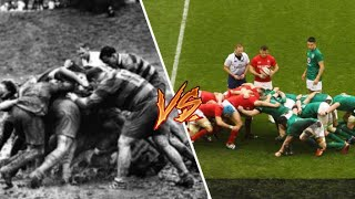 The Evolution of Rugby | 1970s vs 2021