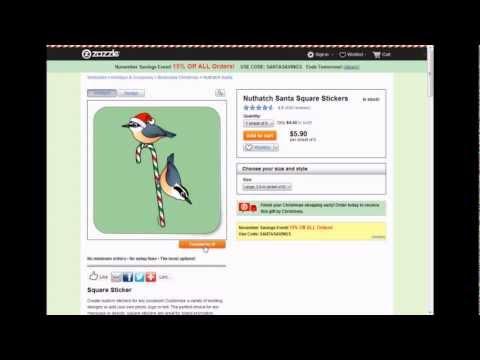 Design Custom Birdorable Gift Labels