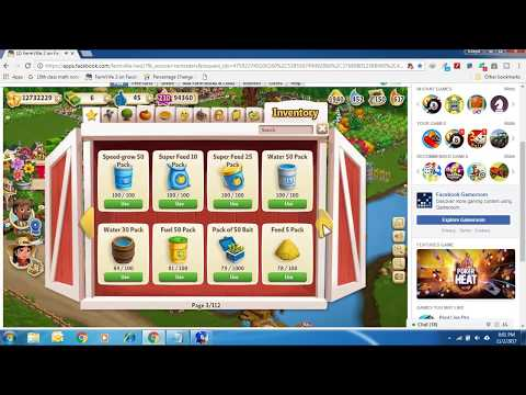 How to free everything in farmville 2