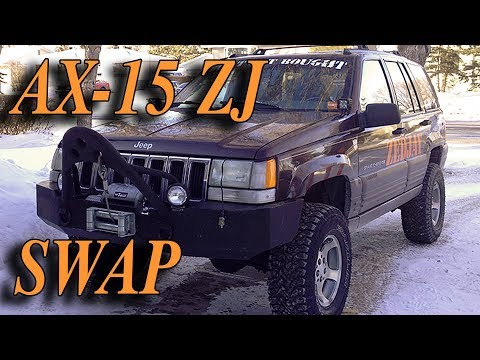 Everything You Need to Swap an AX15 Manual Transmission into a Jeep ZJ