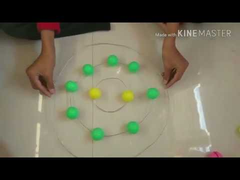 How to make bohr's atomic model...