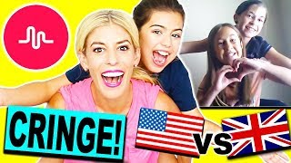 RECREATING FANS CRINGY MUSICAL.LYS with SOPHIA GRACE! (USA VS. UK BATTLE)