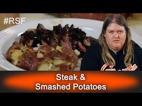 Steak & Smashed Potatoes - Ready, Set, Flambé: Fun Size
