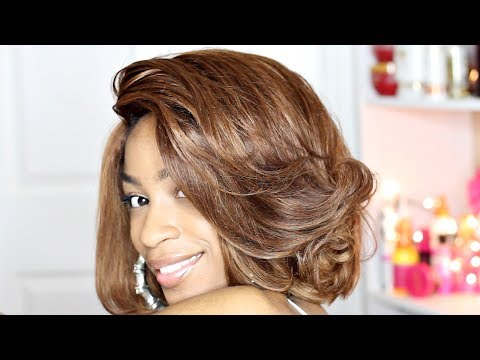 How to Dye Hair Honey Blonde► Beauty Forever Hair Body Wave from Box Dye